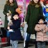 チャングム・イ ヨンエの双子の写真公開