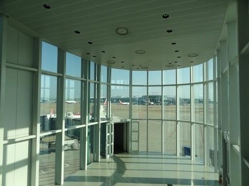 インチョン空港はガラス張り
