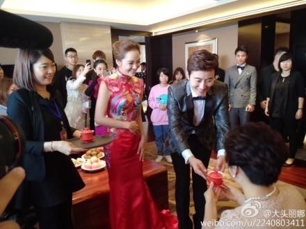 チェリムとガオチュチ結婚中国で結婚式