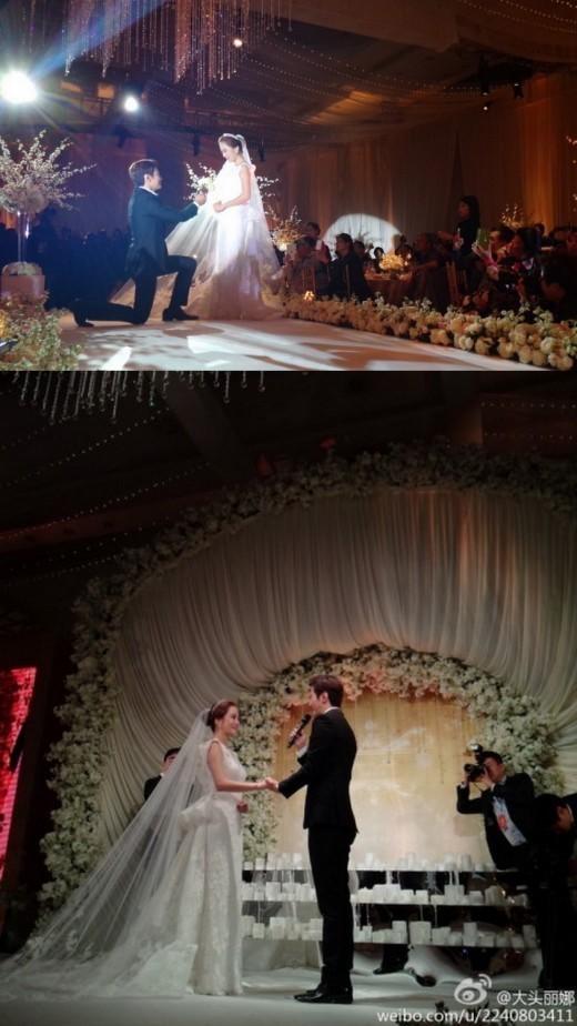 チェリムとガオチュチ結婚中国結婚式