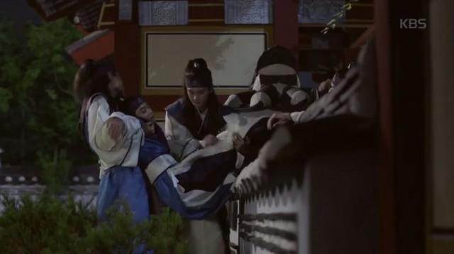 仙門脱出した花郎達に罰を下さる風月主