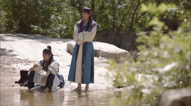 彡麥宗キム・ジディ(パク・ヒョンシク)はソヌ(パク・ソジュン)に生まれて初めて友達ができたの、君が好きだよ~~と告白します。