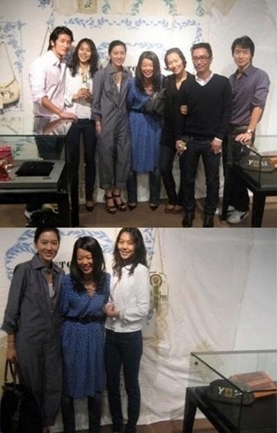イ・ジョンジェの元彼女キム・ミンヒとイム・セリョンさんが一緒に写ってる写真