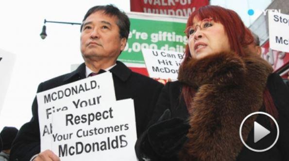現在ニューヨークでは韓国人達が不買運動をしています。