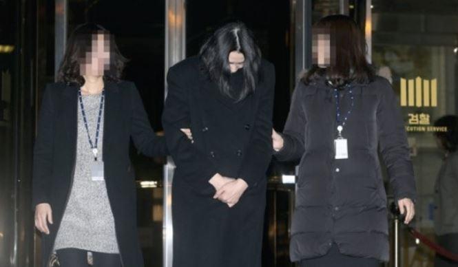 ナッツリターン事件で大韓航空前副社長ジョヒョンアに拘束